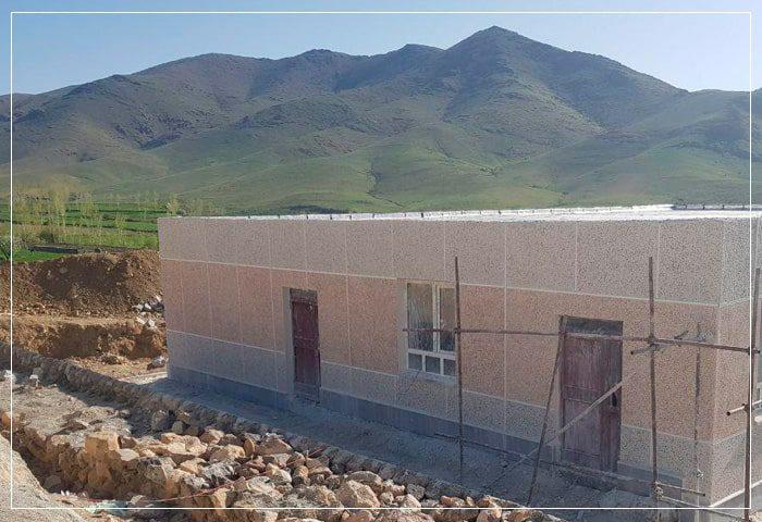 ساخت مدرسه روستای دلزی