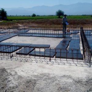 مراحل ساخت مدرسه عثمان آباد