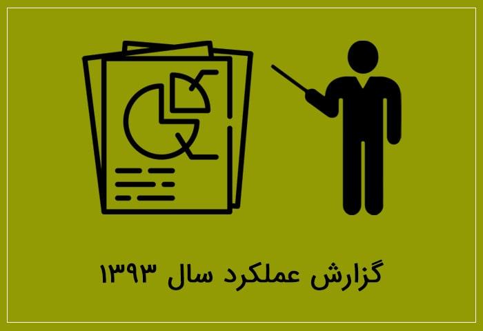 گزارش عملکرد سال ۹۳ بنیاد خیریه برین