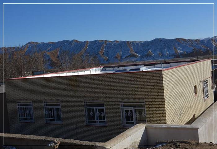 افتتاحیه مدرسه چاراویماق